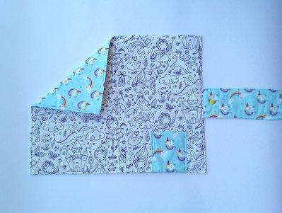 Tovagliette in tessuto da colorare