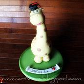 Bomboniera giraffa laureata