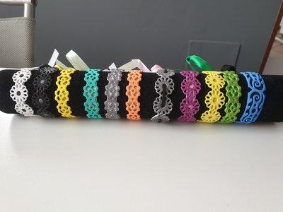 Braccialetti estivi colorati