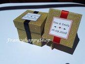 scatoline personalizzate/bomboniere matrimonio/scatoline portaconfetti matrimonio/scatoline bomboniere matrimonio/bomboniere personalizzate