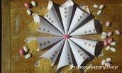 coni matrimonio/matrimonio personalizzato/coni porta riso/confettata/battesimo/nozze fai da te/handmade/baby shower/carta kraft/shabby chic/rustico/vintage