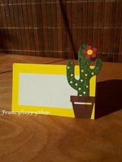 segnaposto compleanno,cactus,decorazioni,matrimonio,festa a tema,tema tropicale,giallo,addobbi per feste,decorazioni compleanno,estate,tema spiaggia,colori estivi