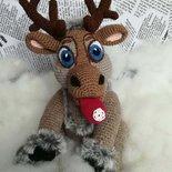 Little reindeer Sven § Piccola renna Sven § Hand Knitted ( crochet) Toys