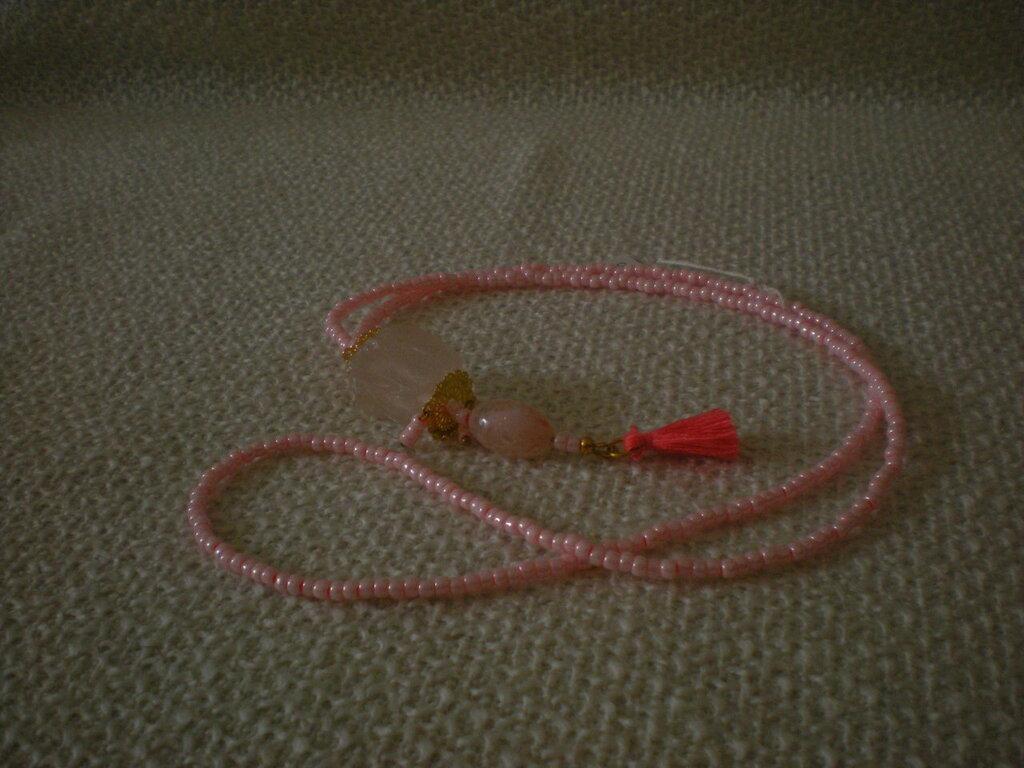 collana lunga con pendente