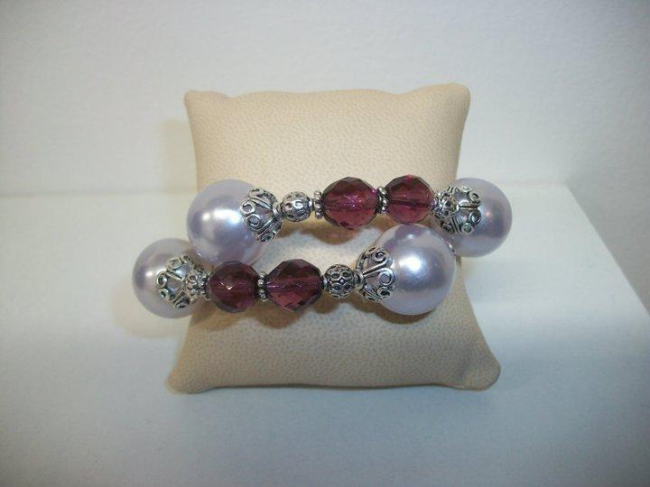 Bracciale con filo armonico e perle