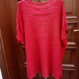 Tunica rossa oversize