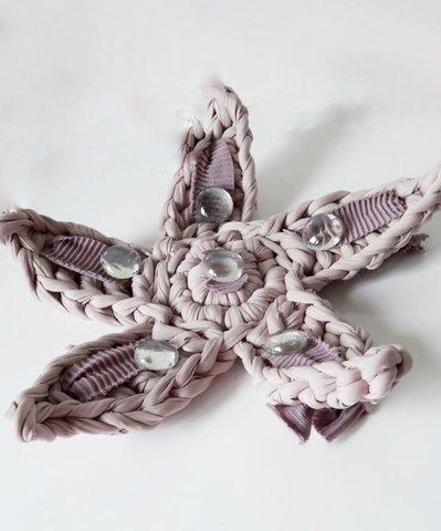 Stella marina complemento d'arredo tessile per la casa e l'home decor