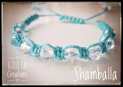 bracciale shamballa con cristalli