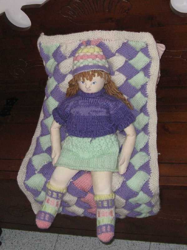 Cloth doll-bambola di pezza