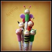 Bomboniere matite animaletti