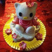 Cake Topper Dolce Hello Kitty