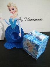 Segnaposto Porta ovetto Kinder uovo cioccolato comunione cresima bimba che prega glitter gomma Eva crepla favour regalo caramella principesse