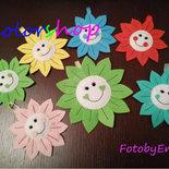 Fiore faccino bomboniera segnaposto compleanni, battesimi, nascite o qualsiasi evento