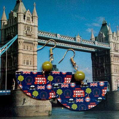 orecchini pendenti fantasia Londra