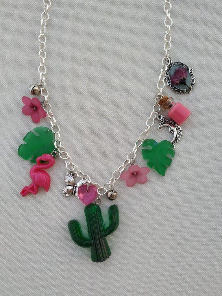 Flamingo y Cactus