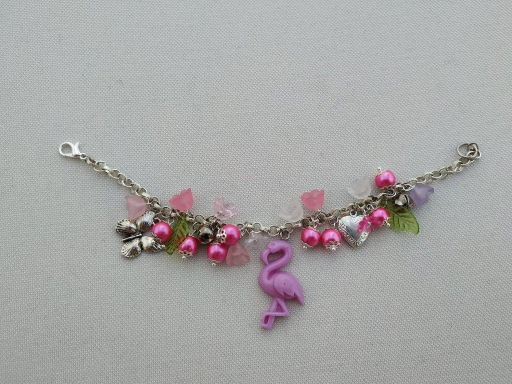 Bracciale Fenicottero Flamingo Bracelet