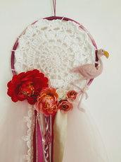 Flamingo Dreamcather Acchiappa SOgni Fenicottero