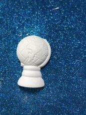 Mappamondo gesso ceramico profumato per il fai da te