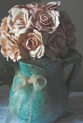 Vaso di fiori in gomma eva