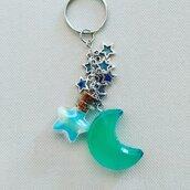 Portachiavi luna Moon Keychain