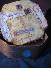 scatola decoupage elegante