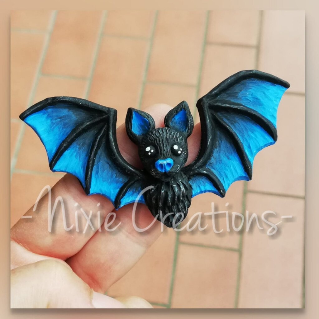Calamita Pipistrello - Blu