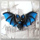 Collana Pipistrello - Blu
