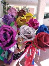 rosa in gomma eva  by RobertaCrea