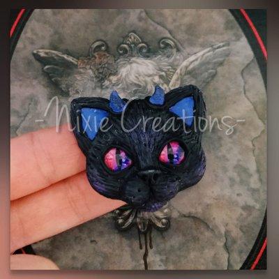 Calamita Demon Cat - Blu