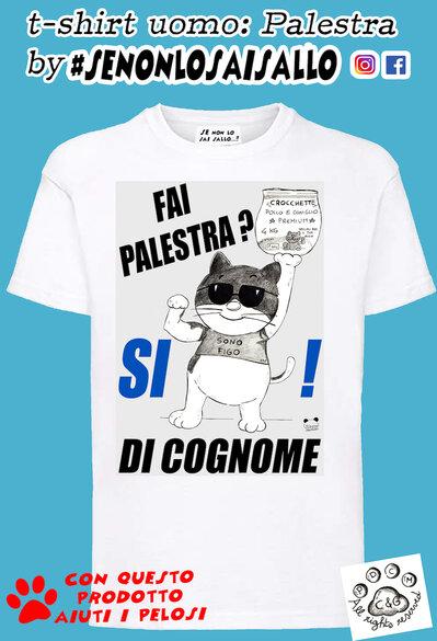 t-shirt uomo SE NON LO SAI SALLO-Palestra