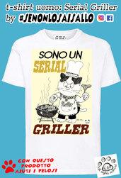 t-shirt uomo SE NON LO SAI SALLO-Serial griller