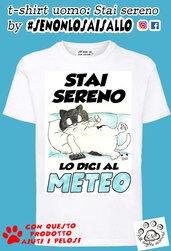t-shirt uomo SE NON LO SAI SALLO-Stai sereno