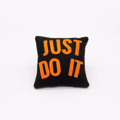 Mini cuscino just do it, 9 x 9 cm
