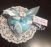 Confetti decorati nascita o battesimo