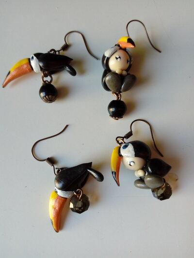 Orecchini bimbo tucano