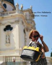 Borsa di Vera Pelle. Modello Vincenza. Colore a scelta