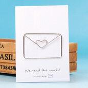 Metal paper clips, flower envelope paper clips, graffette in metallo, scrapbooking, cartoleria