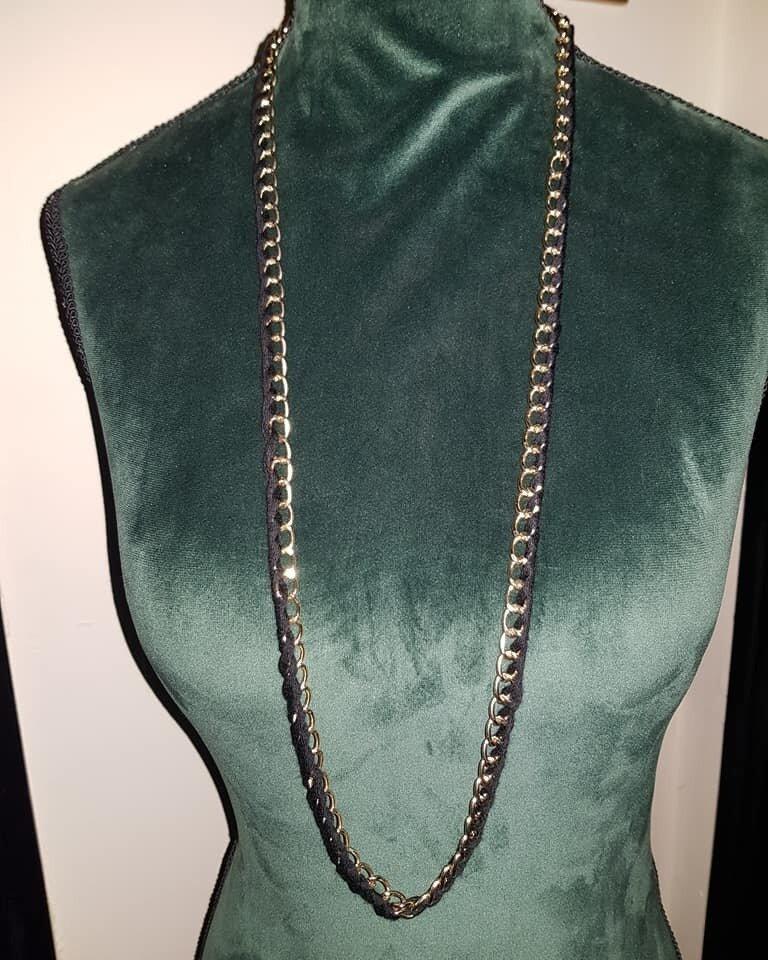 collana catena e filo