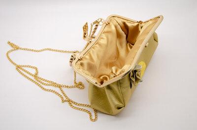 clic per borse da donna color oro