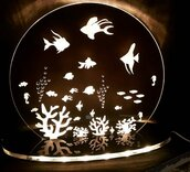 lampada acquario - pesci tropicali