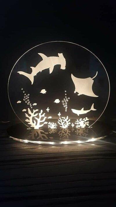 acquario - lampada led