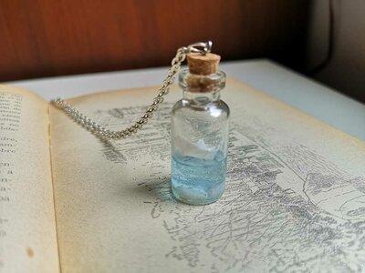 """Collana """"Nave in bottiglia"""""""