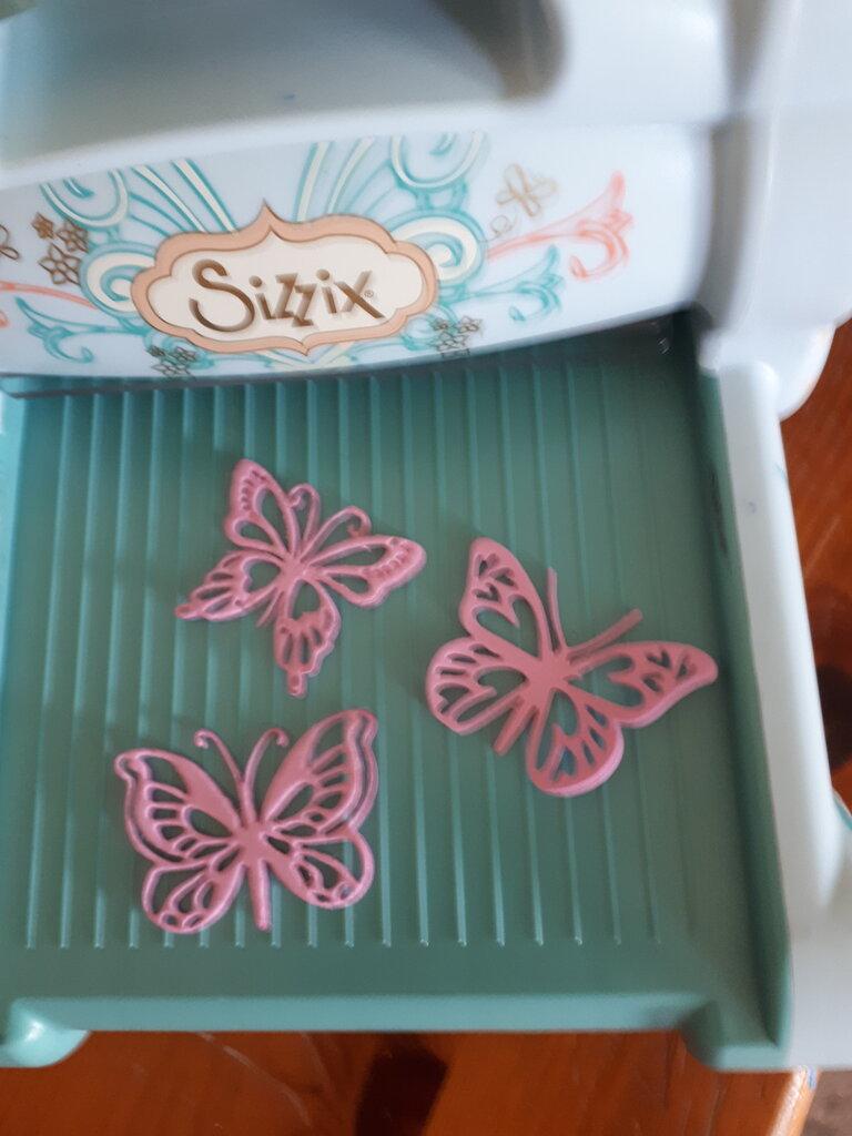 10 farfalle gomma eva