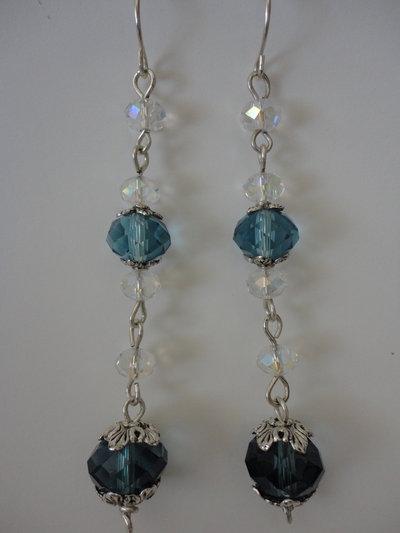 orecchini in cristallo