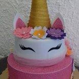 Torta Finta Torta  Scenografica Unicornio