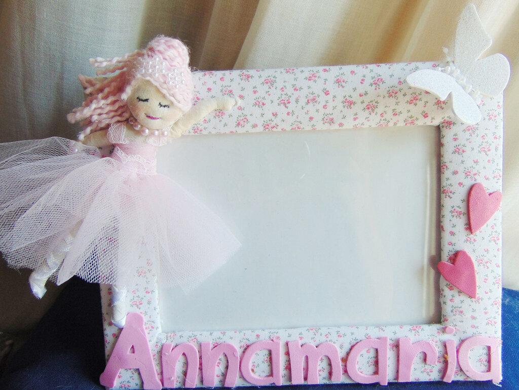 Cornice con ballerina regalo per bimba
