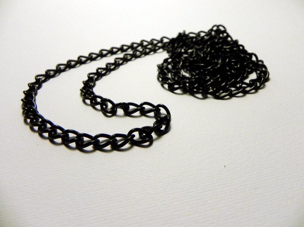 1 metro di catena nera