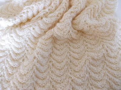 Copertina culla, copertina neonato, culla, bimbo, copertina ai ferri, pura lana