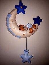 Fiocco nascita luna