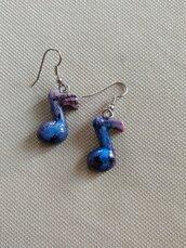 Orecchini notine handmade